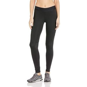 Adidas Black Alpha Skin Tights Leggings Size M